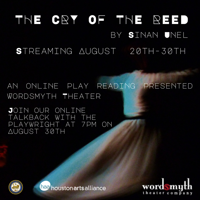 Reading available August 20-30, talkback on the 30th